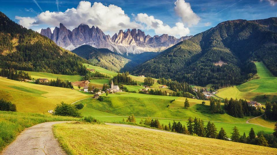 The Adriantic-Alps passage